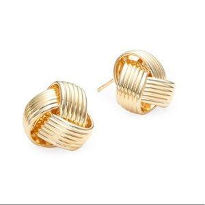 Saks Fifth Avenue Gold Stud Earrings